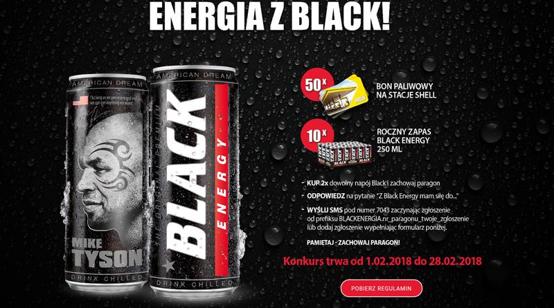 Konkurs Shell: Energia z Black