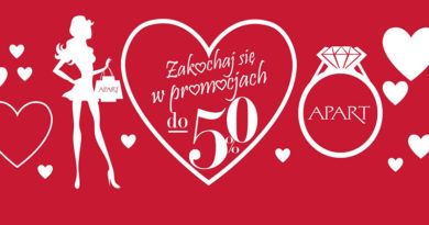 Zakochaj się w promocjach do -50% w Apart