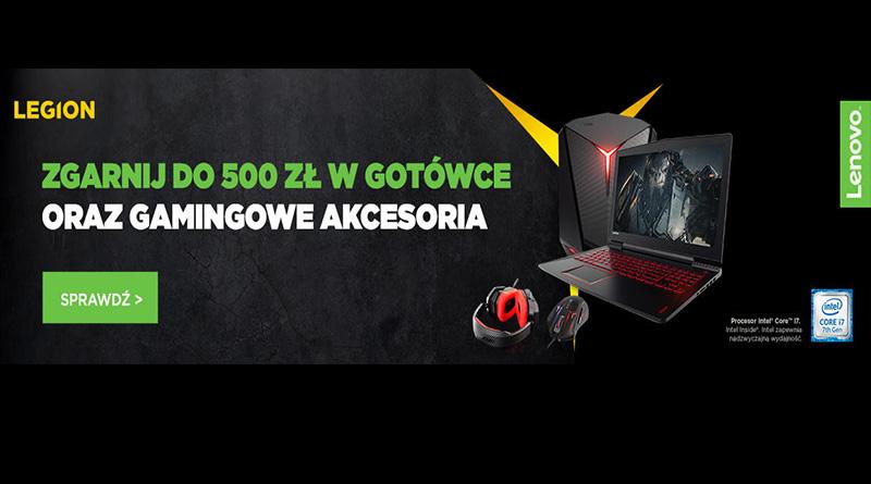 Zgarnij 500 zł i akcesoria gamingowe w Komputroniku