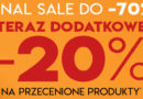 Final Sale do -70% i dodatkowe -20% w Vistula