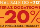 Final Sale do -70% i dodatkowe -20% w Vistula