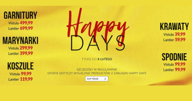 Happy Days w sklepie Vistula