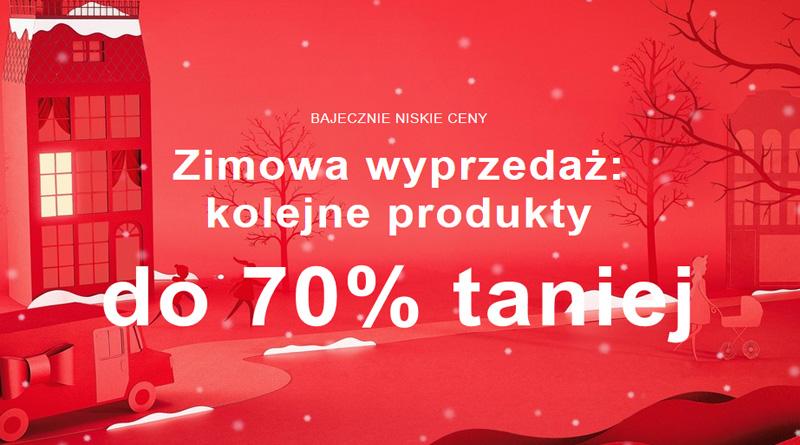 Bajecznie niskie ceny do 70% taniej w Zalando