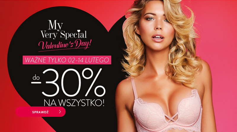 Valentine's Day z rabatami do -30% w Esotiq