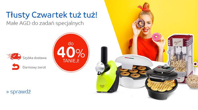 Małe AGD do 40% taniej na eMag.pl