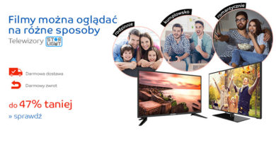 Telewizory do 47% taniej na eMag.pl