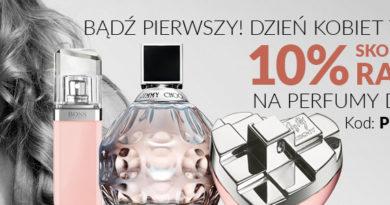 Promocja na perfumy damskie na Dzień Kobiet w Empiku