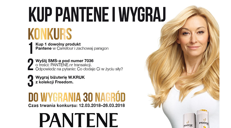 Konkurs Carrefour: Rozwiń skrzydła z Pantene