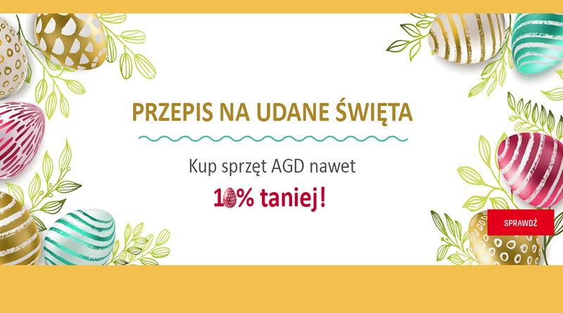 Sprzęt AGD nawet 10% taniej w Neonet