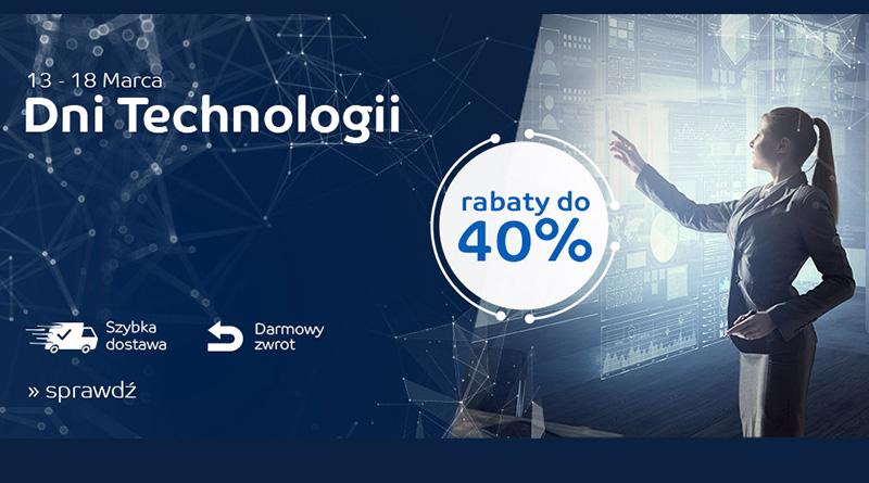 Dni Technologii z rabatami do -40% na eMag.pl