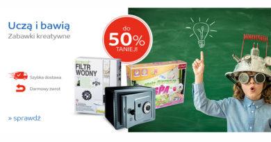 Zabawki kreatywne do 50% taniej na eMag.pl