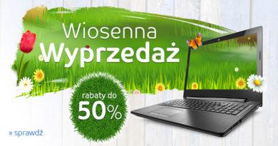 Wiosenna wyprzedaż z rabatami do -50% na eMag.pl