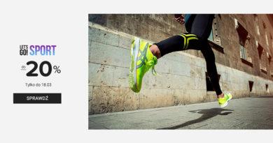 Buty sportowe z rabatem do -20% na eobuwie.pl