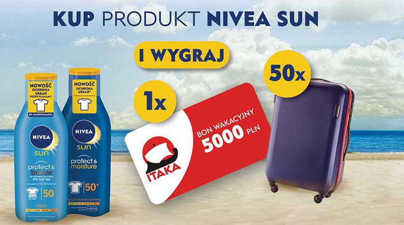 Konkurs Kaufland: Lato z NIVEA SUN