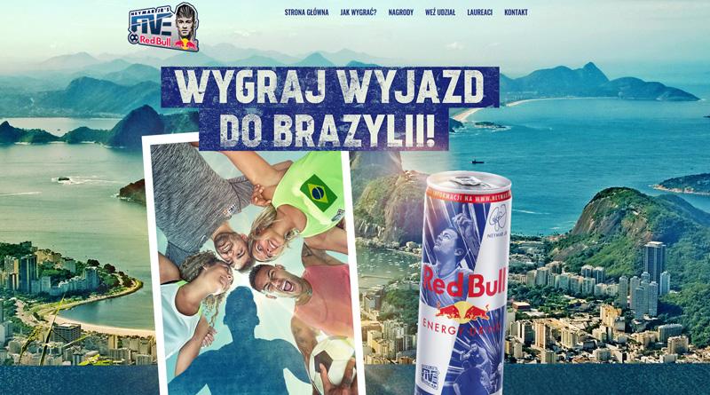 Loteria Red Bull: Wygraj wyjazd do Brazylii