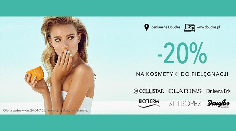 Rabat 20% ma kosmetyki do pielęgnacji w Douglas