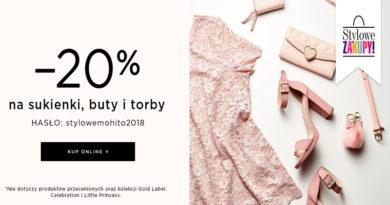 Rabat 20% na sukienki, buty i torby w Mohito