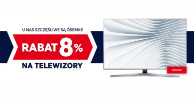 Rabat 8% na telewizory w Neonet