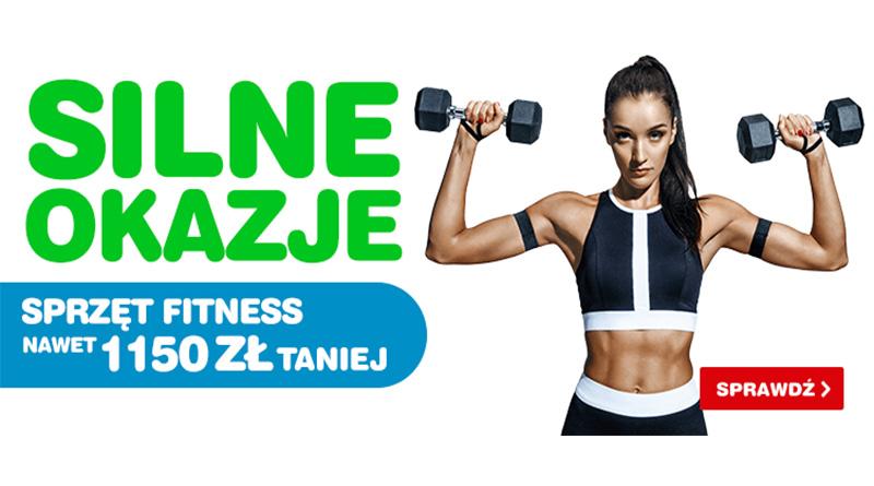 Sprzęt Fitness nawet 1150 zł taniej w OleOle!