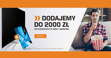 Saturn dodaje do 2000 zł do wybranych TV