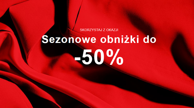 Sezonowe obniżki do -50% w Zalando
