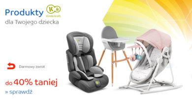 Produkty dla dziecka do 40% taniej na eMag.pl