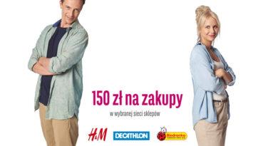Bon 150 zł do Biedronki, H&M lub Decathlona przy otwarciu konta BGŻ BNP Paribas