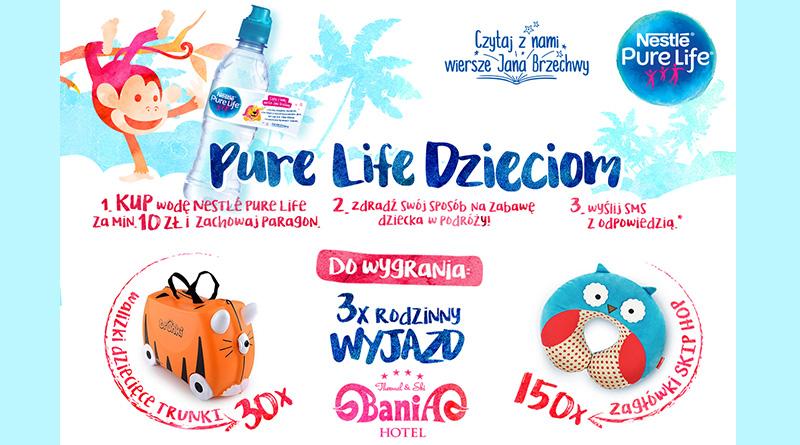 Konkurs Carrefour: Pure Life Dzieciom