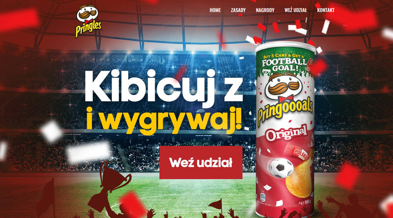 Loteria Mila: Kibicuj z Pringles w Mila
