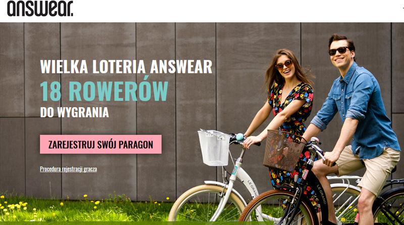 Loteria Answear.com: Wygraj rower LE GRAND