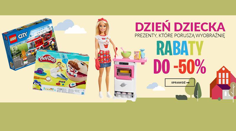 Rabaty do -50% na Dzień Dziecka w Empik.com
