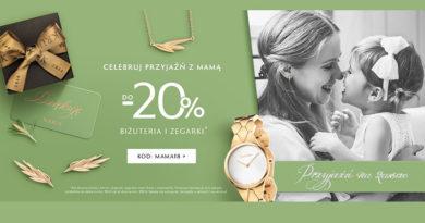 Rabat do 20% na biżuterię i zegarki w W.Kruk