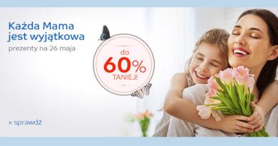 Prezenty na Dzień Mamy do 60% taniej na eMag.pl