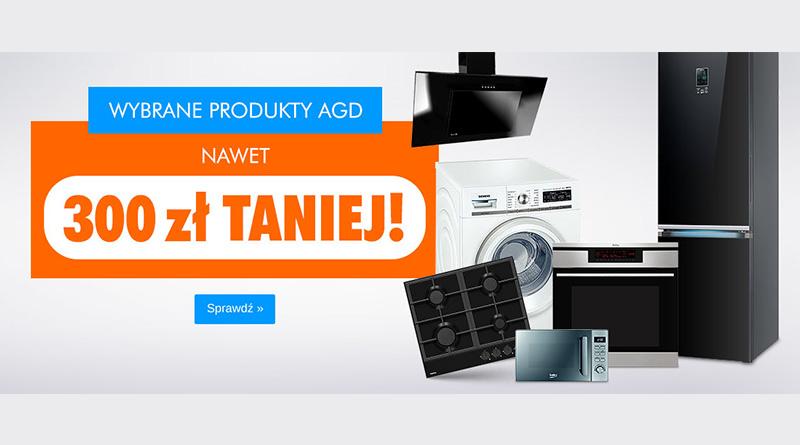 Produkty AGD nawet 300 zł taniej w Electro!