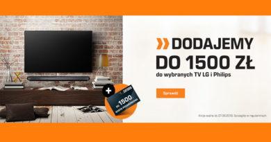Saturn dodaje do 1500 zł do wybranych TV