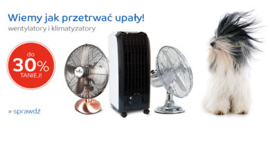 Wentylatory i klimatyzatory do 30% taniej na eMag.pl