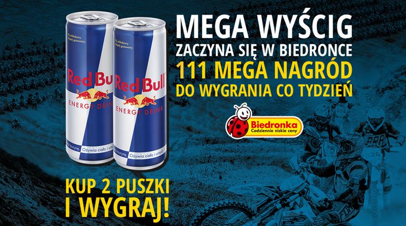 Konkurs Biedronka: Red Bull 111 Megawatt