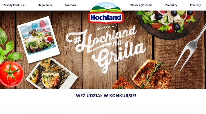 Konkurs Hochland: Hochland na grilla