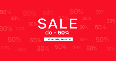 Sale do -50% w Deichmann