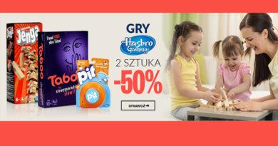 50% rabatu na drugą grę w sklepie Empik.com