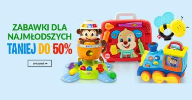 Zabawki taniej do 50% w sklepie Empik.com