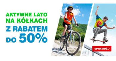Lato na kółkach z rabatem do 50% taniej w OleOle