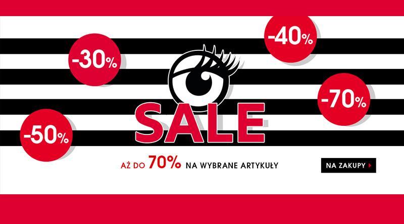 Rabaty do 70% na wybrane artykuły w Sephora