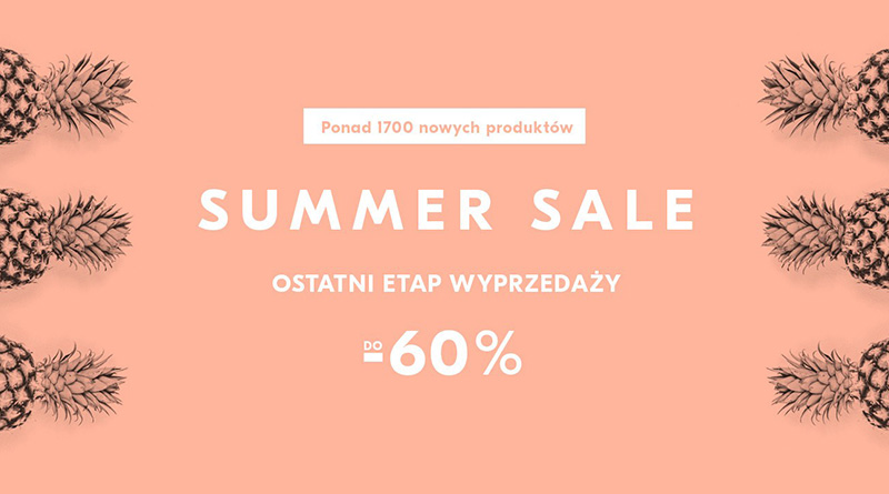 Summer Sale do -60% w Showroom