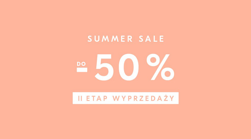Summer Sale do -50% w Showroom