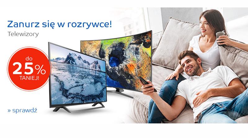 Telewizory do 25% taniej na eMag.pl