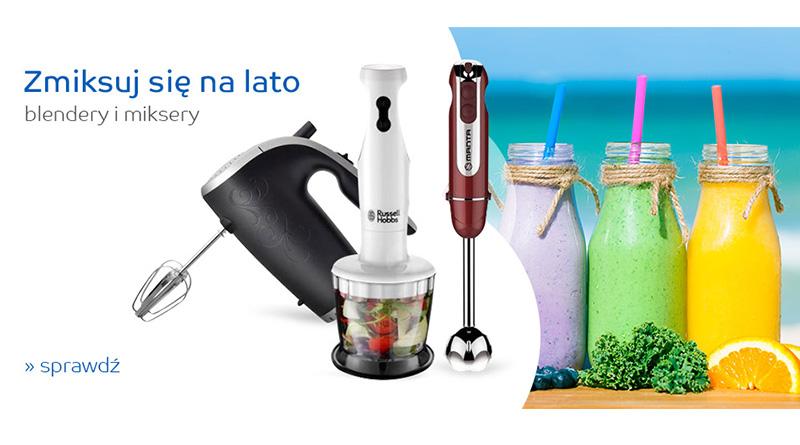 Atrakcyjne ceny na blendery i miksery w sklepie eMag.pl