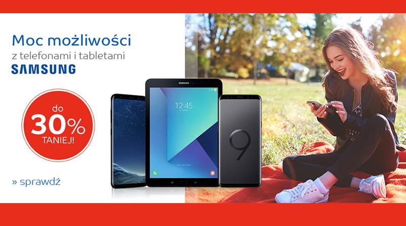 Telefony i tablety Samsung do 30% taniej na eMag.pl