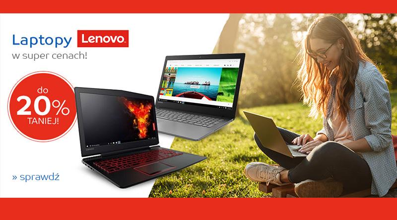 Laptopy Lenovo do 20% taniej na eMag.pl