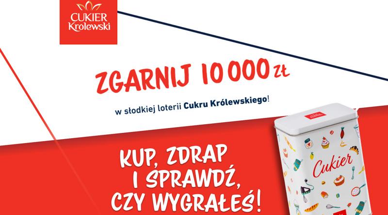 Loteria Cukier Królewski: Słodka loteria Cukru Królewskiego